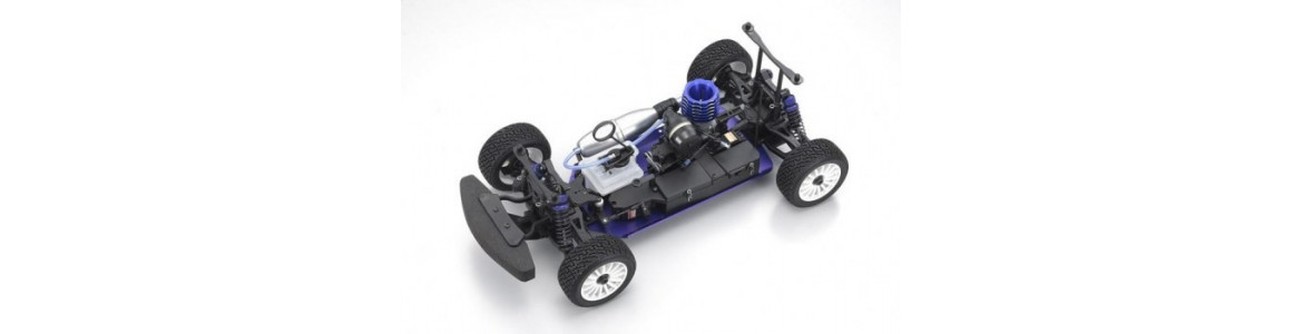 Recambios Kyosho DBX, DST, DRT, DRX