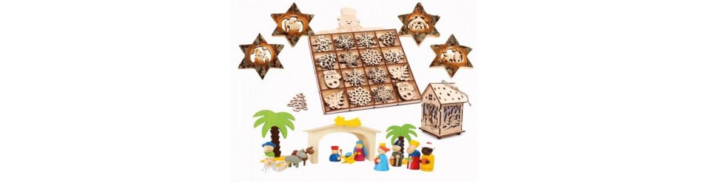 Decoración Navideña madera
