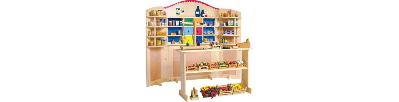 Cocinitas juguete, tiendas y cestitas picnic