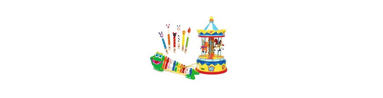 Juegos y juguetes musicales