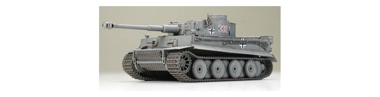 Maquetas Tanques, carros de combate y figuras segunda guerra mundial