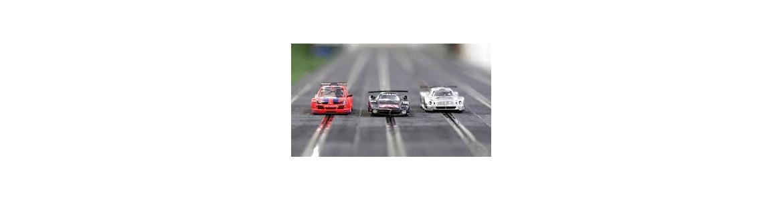 Slot y Scalextric, coches circuitos y pistas