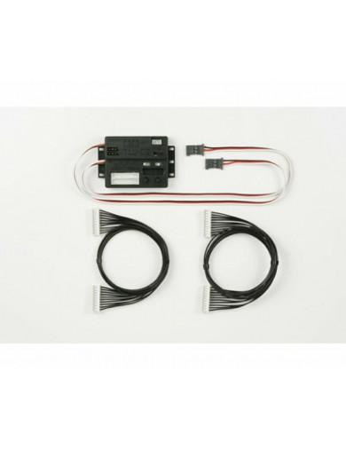 Unida de control de Luces LED TLU-02 (TAMIYA 53937). LED Light Control Unit TAMIYA 53937 Kit de Luces y vinilos RC
