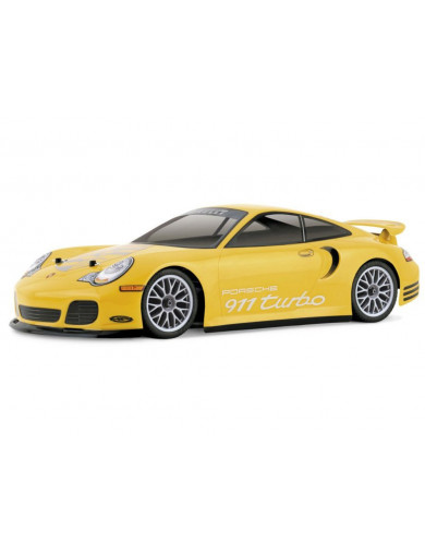 HPI Carrocería Porsche 911 Turbo 1/10 200mm Sin Pintar (HPI 7435). RC Clear body shell HPI7435 Carrocerias RC