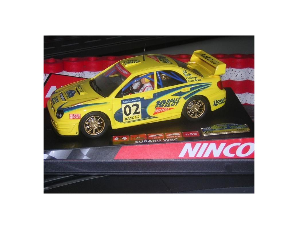 """Subaru Impreza WRC """"Catalunya Costa Brava 2002"""", Coche de Slot (NINCO 50257). Slot car NINCO 50257"""