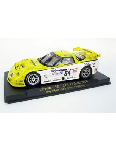 Corvette C5R 24H Le Mans 2000, Coche de Slot FLY (A-122). Slot car FLY A-122