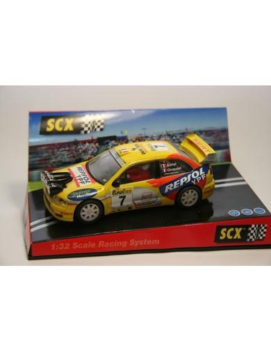 """Seat Cordoba WRC E2 """"Montecarlo 2000"""", Coche SCALEXTRIC (6046). SLOT CAR SCALEXTRIC 6046"""