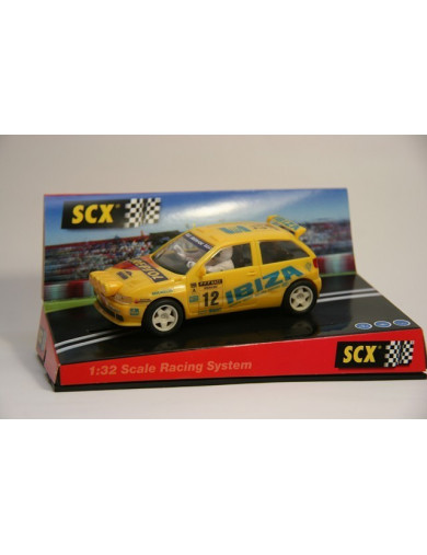 "Seat Ibiza Kit Car ""Costa Brava"", Coche SCALEXTRIC (6013). SLOT CAR SCALEXTRIC 6013"
