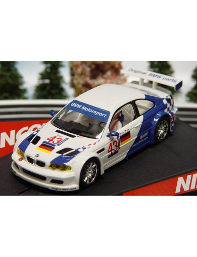 BMW M3 GTR, Coche de Slot (NINCO 50271). SLOT CAR NINCO 50271