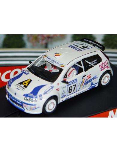 """Fiat Punto Super 1600 """"Llovera"""", Coche de Slot (NINCO 50298). SLOT CAR NINCO 50298"""