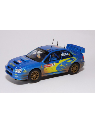 Subaru Impreza WRC GB 2003 Makinen, Coche de Slot (CARRERA 25734). Slot car CARRERA 25734