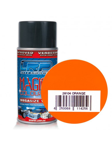 Pintura Policarbonato / Lexan, Color NARANJA para Carrocerías RC MAGIC COLOUR 2 (LRP 28104) LRP 28104 Pinturas Carrocerias RC...