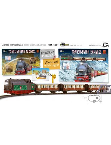 Tren Eléctrico Expreso Transiberiano (PEQUETREN 33450). Electric Train PEQUETREN 33450 Otros Juguetes