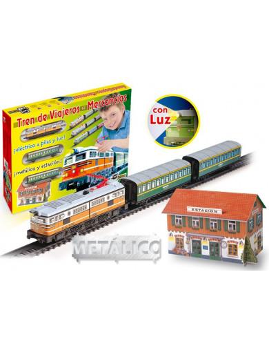 Tren Eléctrico viajeros clásico (PEQUETREN 33301). Electric Train PEQUETREN 33301 Otros Juguetes