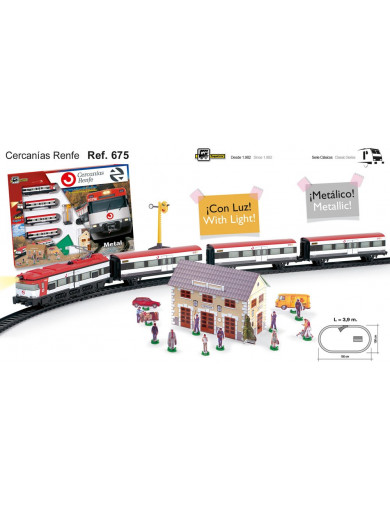 Tren Eléctrico Renfe Cercanías (PEQUETREN 33675). Electric Train PEQUETREN 33675 Otros Juguetes