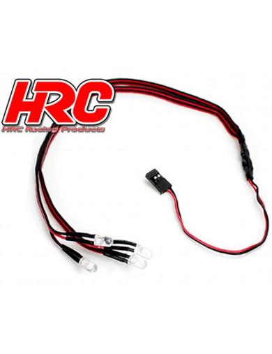 Kit de Luces LED para Coches RC (HRC8703) HRC8703 Kit de Luces y vinilos RC
