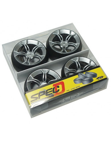 Ruedas Drift rc 1/10 SPEC D MS (YEAH RACING WL-0077) YEAH RACING WL-0077