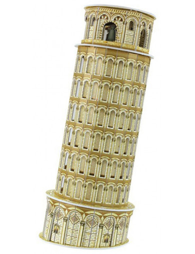 Puzzle 3D Torre de Pisa, 3D Pisa Tower LEG 8909 Puzzles y Rompecabezas