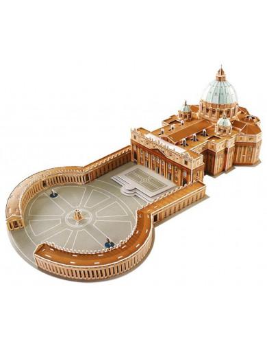 Puzzle 3D Basilica de San Pedro del Vaticano. St. Peter Cathedral LEG 8920 Puzzles y Rompecabezas