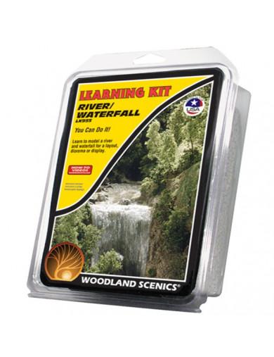 Kit Creación de Cascadas y Ríos para Maquetas y Dioramas (WOODLAND SCENICS LK955) WOODLAND SCENICS LK955 Dioramas Woodland Sc...