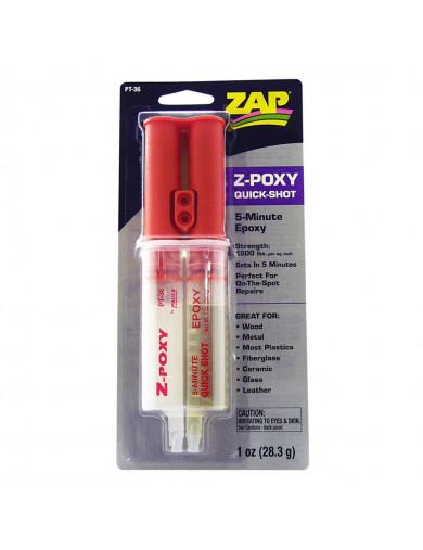 Z-POXY Pegamento Rápido Epoxy 5 Minutos, Bicomponente (ZAP PT-36) ZAP PT-36 Aceites, Siliconas, Pegamentos, Limpiadores...