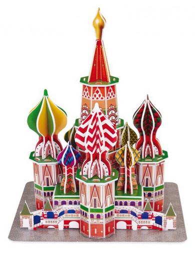 Puzzle 3D Catedral San Basilio LEG 8917 Puzzles y Rompecabezas