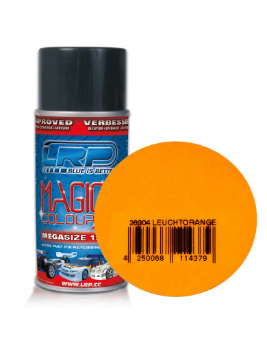 Pintura Policarbonato / Lexan, Color NARANJA VIVO, para Carrocerías R/C, MAGIC COLOUR 2 (LRP 28304) LRP 28304 Pinturas Carroc...