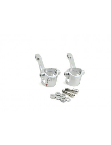 Manguetas Aluminio para Team Magic E4 Y E4D (K FACTORY kf2110). Steering Block Set KF2110 Recambios Team Magic