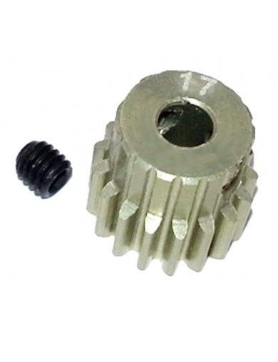Piñon Reforzado 48P 17T (3RAC-PG4817). 48 Pitch Pinion Gear 17T 3RACING PG4817 Recambios SAKURA D3 y D4