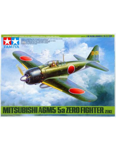 Maqueta Avión MITSUBISHI A6M5/5A ZERO (Zeke) (TAMIYA 89793). Aircraft Model Kit TAMIYA 89793 Maquetas Aviones de Guerra