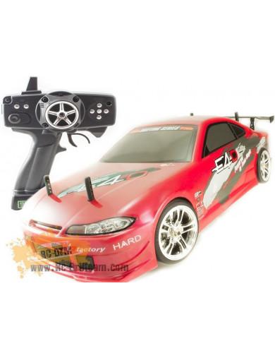Coche Drift RC Team Magic E4D-MF Nissan Silvia, RTR (TM503017-S15). Drift car RTR TM503017-S15 Coches RC