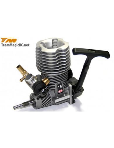 Motor Explosion Nitro TEAM MAGIC GO15, 2.5CC (TMGOR1500). Nitro Engine TMGOR1500 Recambios Team Magic