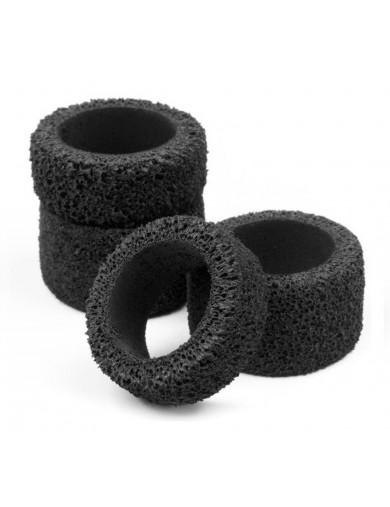 Neumáticos Duros para BAJA Q32 (HPI 114262). Foam Tire Set HPI 114262 Recambios HPI BAJA Q32 (micro 1/32)
