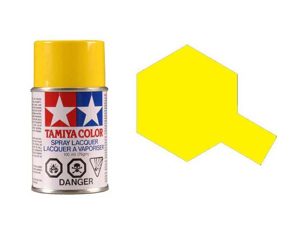 Pintura Policarbonato / Lexan PS-6, Color AMARILLO, para Carrocerías R/C (TAMIYA 86006) TAMIYA 86006 Pinturas Carrocerias RC ...