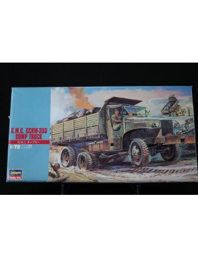 Camión GMC CCKW-353 Volquete, Maqueta Segunda Guerra Mundial (HASEGAWA 31122). Dump Truck Model Kit HASEGAWA 31122 Maquetas T...