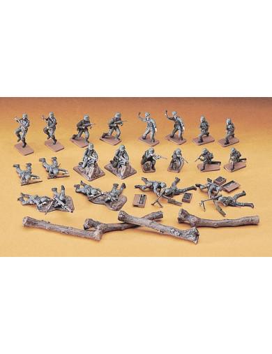 Figuras de Soldados Infantería Alemana en Combate, Maqueta Segunda Guerra Mundial (HASEGAWA 31130) HASEGAWA 31130 Maquetas Ta...