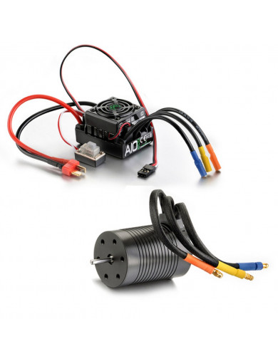 Combo BRUSHLESS 1/10, Motor y Variador 3421KV, Thrust BL A10 (ABSIMA 2120002) ABSIMA 2120002 Motores RC Electricos y Combos