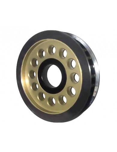 Polea Diferencial 34T Aluminio para SAKURA D3 (3RAC-3PY/34). Aluminum Diff. Pulley Gear T34 3RACING 3PY/34 Recambios SAKURA D...