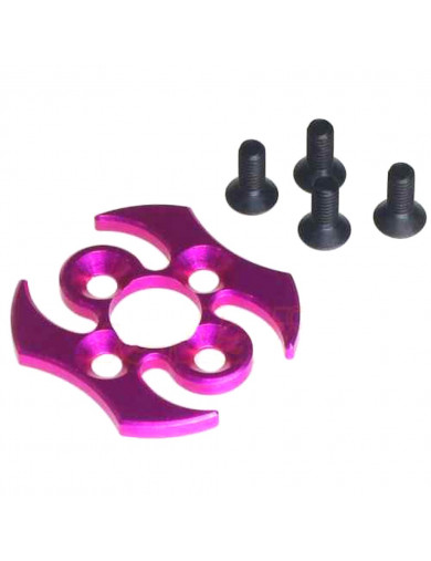 Soporte Exterior de Corona Aluminio, Nueva Version V2 (3RACING SAK-D305/V2/PK). Aluminum Spur Gear Cover Ver. 2 3RACING SAK-D...