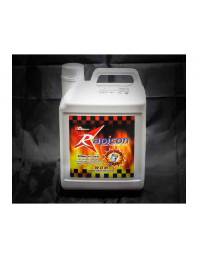 Rapicon Fuel 16% 2,5L. Combustible para Coches RC (RAPICON CA1625) RAPICON CA1625 Gasolina RC