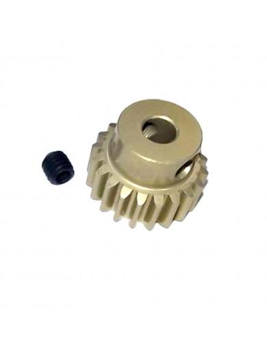 Piñon Reforzado 48P 23T (3RAC-PG4823). 48 Pitch Pinion Gear 3RACING PG4823 Recambios SAKURA D3 y D4
