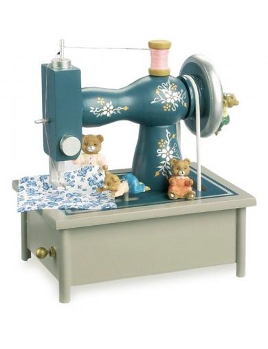 "Caja de Musica ""Maquina de Coser"". Musical Box ""Sewing Machine"" Leg 7110 Juguetes Musicales"