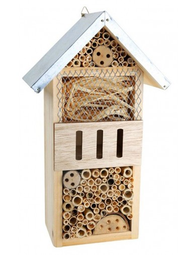 Hotel Para Insectos, Mediano. Insects Hotel LEG 1268 Articulos de Jardinería