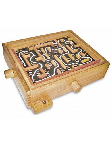 Laberinto de Madera, Grande. Wooden Labyrinth, Big Size LEG 1512 Juegos y Juguetes de Habilidad