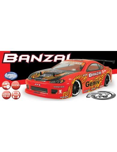 FTX Banzai, Coche Drift RC 1/10 4WD RTR, Listo Para Correr. FTX BANZAI DRIFT CAR FTX 5529 Coches RC