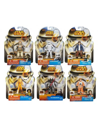 Star Wars, Pack 6 Figuras