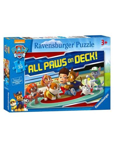 Puzzle Patrulla Canina 35 piezas, Ravensburger Paw Patrol PS 211773 Puzzles y Rompecabezas