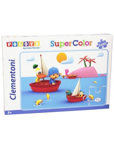 2 Puzzles POCOYO 2x20 piezas PS 260070 Puzzles y Rompecabezas