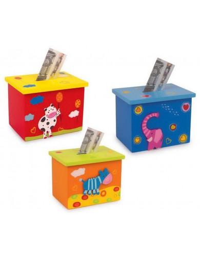 Hucha Infantil, con Animalitos LEG 2458 Decoración infantil