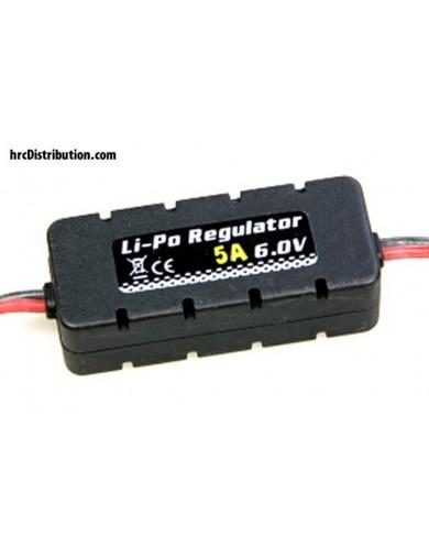 Regulador Universal BEC a 6V 5Amp, Lipo 2s HRC ET0556 Conectores, Cables y Adaptadores RC